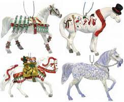 trail of the painted ponies 2006 ornament set painted