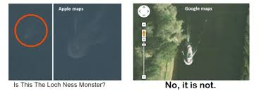 Loch Ness Monster Meme - loch ness monster on apple maps got debunked quickly meme guy