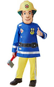 amazon fireman sam children u0027s fancy dress costume 5 6