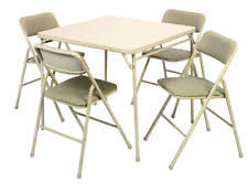 cosco products 5 piece folding table and chair set black cosco products 5 piece folding table and chair set tan ebay