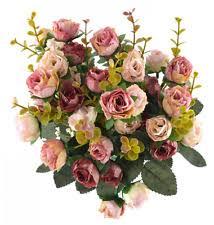 Silk Flower Centerpieces Artificial Flower Arrangements Floral Decor Ebay