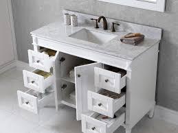 bathroom 48 white bathroom vanity 40 design element stanton 48
