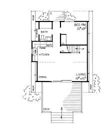 Small A Frame Cabin Plans Small Contemporary A Frame House Plans Home Design Hw 1491 17314