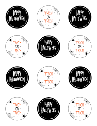 free printable halloween treat bag labels treat bag the petite package
