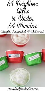inexpensive and easy gifts for 64 live