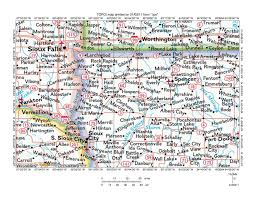 Map Of North West Usa by Floyd River Little Sioux River Northern Drainage Divide Area