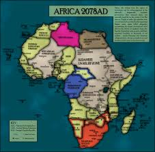 Future Map Of The World by Dystopian Future Africa Fh Map By Sregan On Deviantart