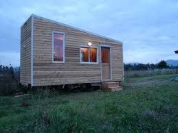 shed roof homes builds herself a gorgeous tiny healthy chemical free