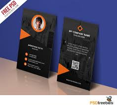 modern corporate business card template free psd u2013 uxfree com