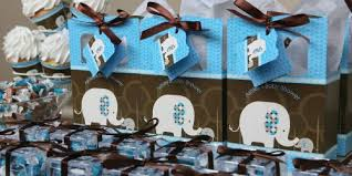 baby shower decorations for boy blue baby elephant baby shower decorations theme
