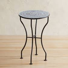outdoor mosaic accent table dot mosaic accent table