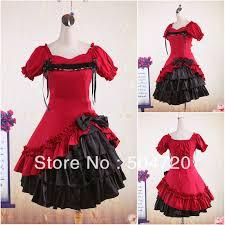 online get cheap victorian dress costume girls red aliexpress com