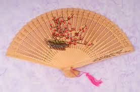 sandalwood fan sandalwood fan plum blossom accessories women