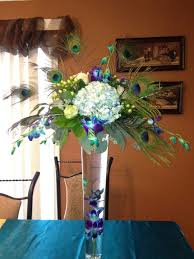 Feather And Flower Centerpieces by 366 Best Tall Floral Centerpieces Images On Pinterest Marriage