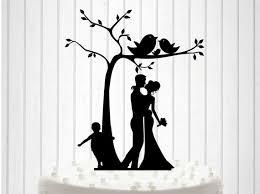 family wedding cake toppers knit family wedding cake topper cake decor silhouette