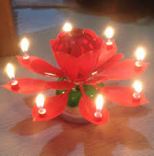 lotus birthday candle musical lotus flower birthday candle discount