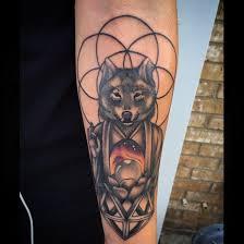 Forearm Wolf - wolf buddha on the forearm com
