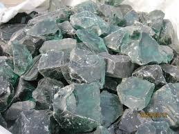 aqua blue big glass rocks for garden buy landscaping glass rocks