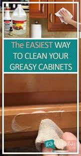 Clean Cabinet Doors How To Clean Grease From Kitchen Cabinet Doors Kitchens Kitchen