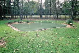 backyard golf kingwood texas offers custom putting green