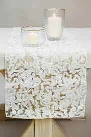 chic cotton table runner