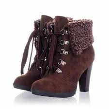 womens boots on ebay fur lined boots ebay