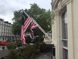Wall Mount Flag Pole Angled Flagpoles For London Hotel Jms Flagpoles