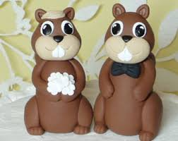 squirrel cake topper squirrel cake topper etsy
