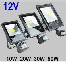 Outdoor Led Flood Lighting - 12v 10w 20w 30w 50w pir led floodlight outdoor led flood light