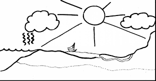 brilliant water cycle coloring page pages ga with water cycle
