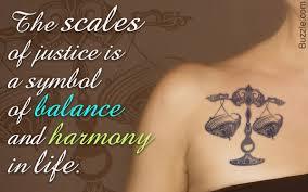 libra tattoos for girls that highlight their true charm