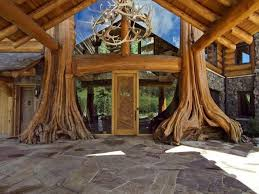 luxury log cabin homes that are at one with nature