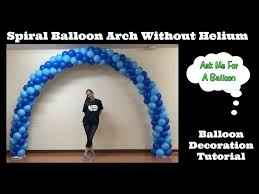3 ways to make a balloon arch wikihow