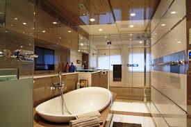 bathroom bathroom shower ideas with transparent glass and hanging bathroom shower ideas with transparent glass and hanging towel also glossy white bathtub and white shade ceiling lamps