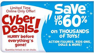 toys r us thanksgiving 60 cyber deals today and more discounts