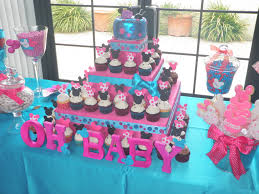 different baby shower different baby shower ideas pink blue minie mouse cupcakes