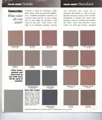 Dark Colors Names Concrete