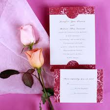 invitation kits cheap damask wedding invitation kits ewi002 as low as