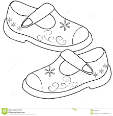 coloring coloring pictures of shoes
