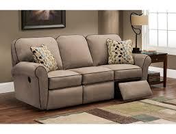 Lazy Boy Leather Reclining Sofa Z Boy La Time Reclining Sofa With Regard To Lazy