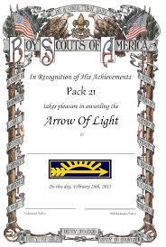 webelos arrow of light requirements 2017 webelos crossover certificates scouter mom