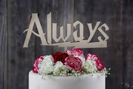 wedding quotes harry potter harry potter always cake topper after all this time always cake