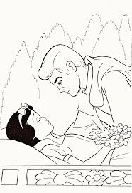 walt disney coloring pages princess snow white u0026 the prince