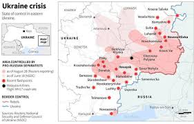 minsk russia maps ukraine crisis pro russian rebels ukraine agree on ceasefire at