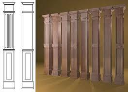 interior pillars decorative wall columns door way interior wood pillars decorative