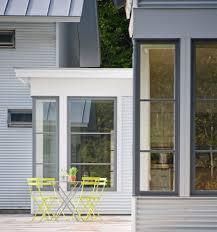 Contemporary Farmhouse Modern Farmhouse Windows Patio Farmhouse With White Metal Roof