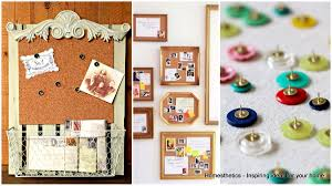 22 Exceptional DIY Bulletin Board Ideas to Revamp Your Home fice
