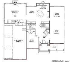 Two Storey Residential Floor Plan Womens Fashion Clothing 2 Story House Floor Plans
