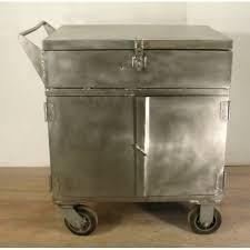Antique Storage Cabinet Vintage Storage Cart Industrial Antique Cabinet