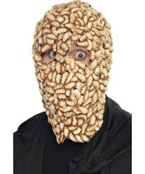 maggot mask scary insect mask halloween men u0027s fancy dress